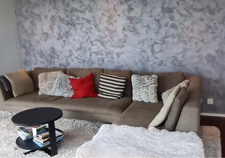 Dekorativ Innenbereich, Wohnzimmer, Wand streichen