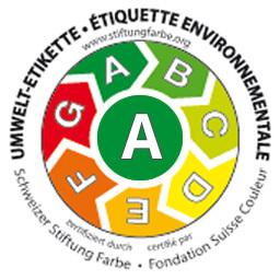 Umwelt-Etikette Schweizer Stiftung Farbe, Fondation Suisse Couleur